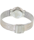 Skagen Women's 355SSRS Silver Stainless-Steel Analog Quartz Watch - Back Image Swatch