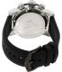 Swiss Precimax Men's Vector Pro Sport SP13089 Black Silicone Swiss Chronograph Watch - Back Image Swatch