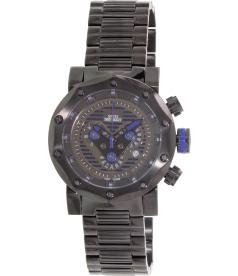 Swiss Precimax Men's Vector Pro SP13093 Black Stainless-Steel Swiss Chronograph Watch