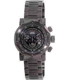 Swiss Precimax Men's Vector Pro SP13094 Black Stainless-Steel Swiss Chronograph Watch