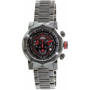Swiss Precimax Men's Vector Pro SP13095 Black Stainless-Steel Swiss Chronograph Watch