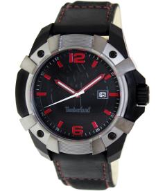 Timberland Men's Chocorua 13326JPBU/02A Black Nylon Analog Quartz Watch