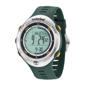 Timberland Men's Washington Summit 13386JPGNS/01 Green Plastic Quartz Watch