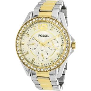 Fossil Women's Riley ES3204 Silver Stainless-Steel Quartz Watch