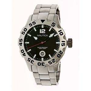 Nautica Men's Metal N17549G Silver Stainless-Steel Quartz Watch