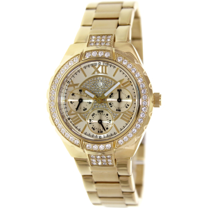 Guess Women's U0111L2 Gold Stainless-Steel Analog Quartz Watch