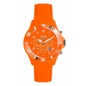 Ice-Watch Women's Matte CHM.FO.B.S.12 Orange Silicone Quartz Watch