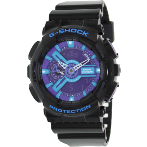 Casio Men's G-Shock GA110HC-1A Digital Plastic Quartz Watch