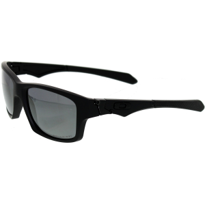 Oakley Men's Polarized Jupiter OO9135-09 Black Rectangle Sunglasses