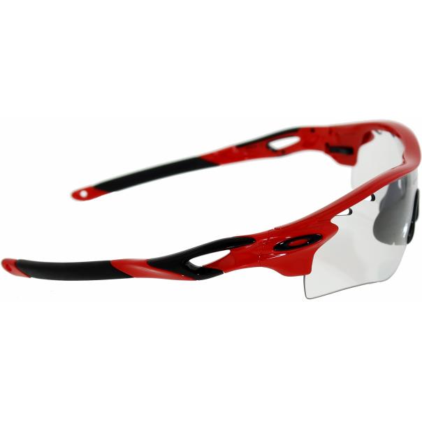 oakley men 39 s photochromatic radarlock path oo9181 09 red wrap sunglasses. Black Bedroom Furniture Sets. Home Design Ideas