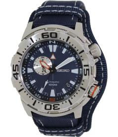 Seiko Men's SSA053K Black Nylon Automatic Watch