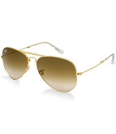 Ray-Ban Men's Pradator 2 RB3479-001/51-58 Gold Aviator Sunglasses