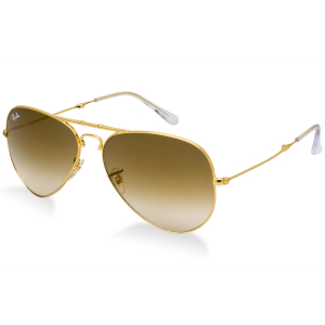Ray-Ban Men's Pradator 2 RB3479-001/51-58 Gold Aviator Sunglasses