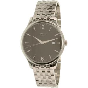 Tissot Men's Tradition T063.610.11.067.00 Silver Stainless-Steel Swiss Quartz Watch