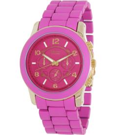 Geneva Platinum Women's 9158.Gold.Pink Pink Metal Quartz Watch