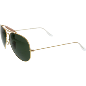 Ray-Ban Men's Gradient Outdoorsman II RB3029-L2112-62 Gold Aviator Sunglasses