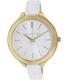 Michael Kors Women's Runway MK2273 White Leather Analog Quartz Watch - Main Image Swatch
