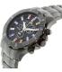 Swiss Precimax Men's Armada Pro SP13050 Black Stainless-Steel Swiss Chronograph Watch - Side Image Swatch
