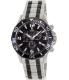 Swiss Precimax Men's Tarsis Pro SP13068 Silver/Black Stainless-Steel Swiss Chronograph Watch - Main Image Swatch