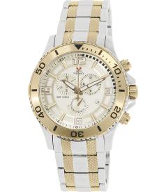 Swiss Precimax Men's Tarsis Pro SP13071 Gold Stainless-Steel Swiss Chronograph Watch