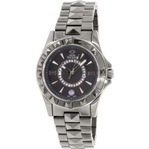 Swiss Precimax Women's Fiora SP13171 Grey Stainless-Steel Swiss Quartz Watch