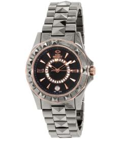 Swiss Precimax Women's Fiora SP13172 Grey Ceramic Swiss Quartz Watch