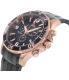 Swiss Precimax Men's Tarsis Pro SP13230 Black Stainless-Steel Swiss Chronograph Watch - Side Image Swatch