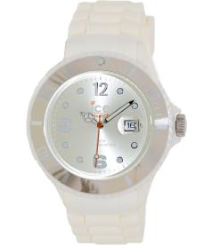 Ice-Watch Men's Chocolate CT.WC.B.S.10 Silver Silicone Quartz Watch