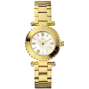Guess Collection Women's Mini Chic X70008L1S Mother-Of-Pearl Stainless-Steel Quartz Watch