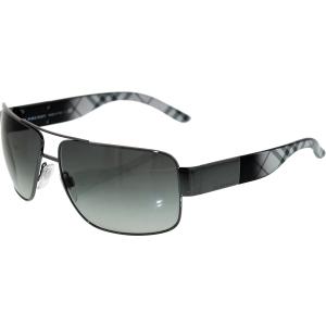 Burberry Men's Gradient  BE3040-105711-61 Gunmetal Rectangle Sunglasses