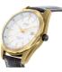 Casio Men's Core BEM121AL-7A Black Leather Quartz Watch - Side Image Swatch