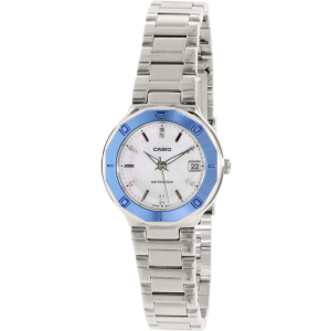 Casio Women's Core LTP1366D-7A Silver Stainless-Steel Quartz Watch