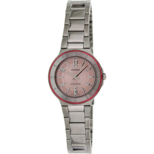 Casio Women's Core LTP1367D-4A Silver Stainless-Steel Quartz Watch