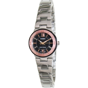 Casio Women's Core LTP1368D-1A2 Silver Stainless-Steel Quartz Watch