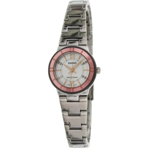Casio Women's Core LTP1368D-7A Silver Stainless-Steel Quartz Watch