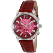 Casio Women's Sheen SHN5010L-4A Red Leather Quartz Watch