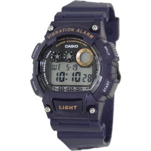 Casio Men's Core W735H-2AV Blue Resin Quartz Watch