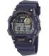 Casio Men's Core W735H-2AV Blue Resin Quartz Watch - Main Image Swatch
