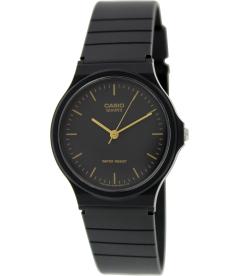 Casio Men's Core MQ24-1EL Black Rubber Quartz Watch