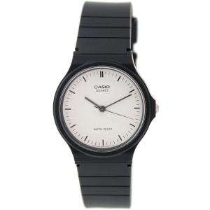 Casio Women's Core MQ24-7EL Black Rubber Analog Quartz Watch