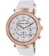 Michael Kors Women's Parker MK2281 White Leather Quartz Watch - Main Image Swatch