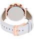 Michael Kors Women's Parker MK2281 White Leather Quartz Watch - Back Image Swatch