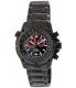 Swiss Precimax Men's Squadron Pro SP13074 Black Stainless-Steel Swiss Chronograph Watch - Main Image Swatch
