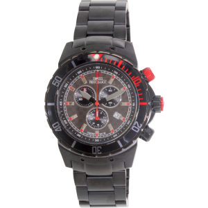 Swiss Precimax Men's Pursuit Pro SP13297 Grey Stainless-Steel Swiss Chronograph Watch