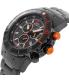 Swiss Precimax Men's Pursuit Pro SP13298 Black Stainless-Steel Swiss Chronograph Watch - Side Image Swatch