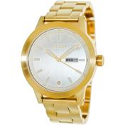 Nixon Men's Spur A263502 Silver Stainless-Steel Quartz Watch