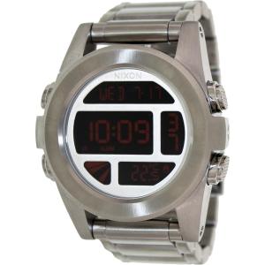 Nixon Men's Unit SS A3601263 Digital Stainless-Steel Quartz Watch