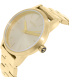 Nixon Women's Kensington A361502 Gold Stainless-Steel Quartz Watch - Side Image Swatch