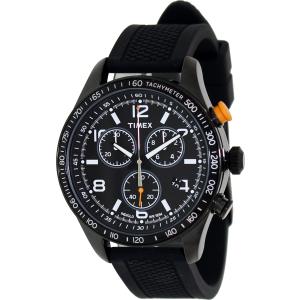 Timex Men's Originals T2P043 Black Silicone Analog Quartz Watch