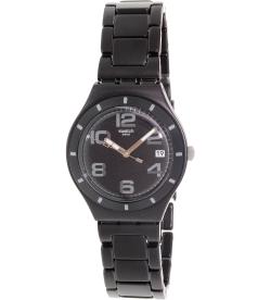 Swatch Men's Irony YGB4008AG Black Aluminum Swiss Quartz Watch